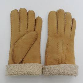 Factory price of classical sheepskin merino gloves ladies sheepskin winter gloves woman